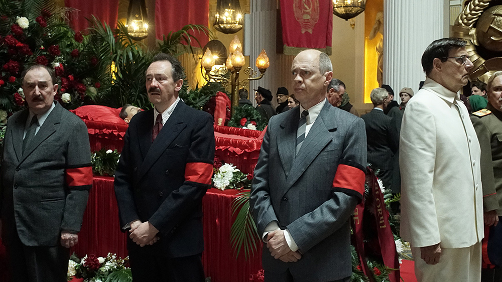 A scene from Armando Ianucci's  The Death of Stalin  {Photo: IFC Films}