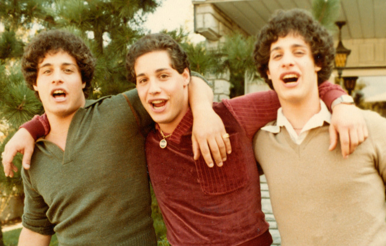 A scene from Tim Wardnle's  Three Identical Strangers  {Photo: NEON}