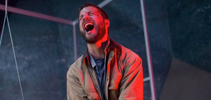 Logan Marshall-Green in a scene from Leigh Whannell's  Upgrade  (Photo: BH TILT)