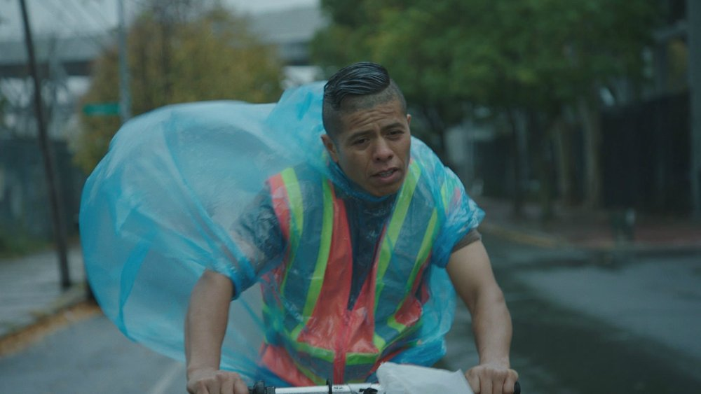Fernando Cardona in a scene from Jim McKay's  En el Septimo Dia  {Photo: