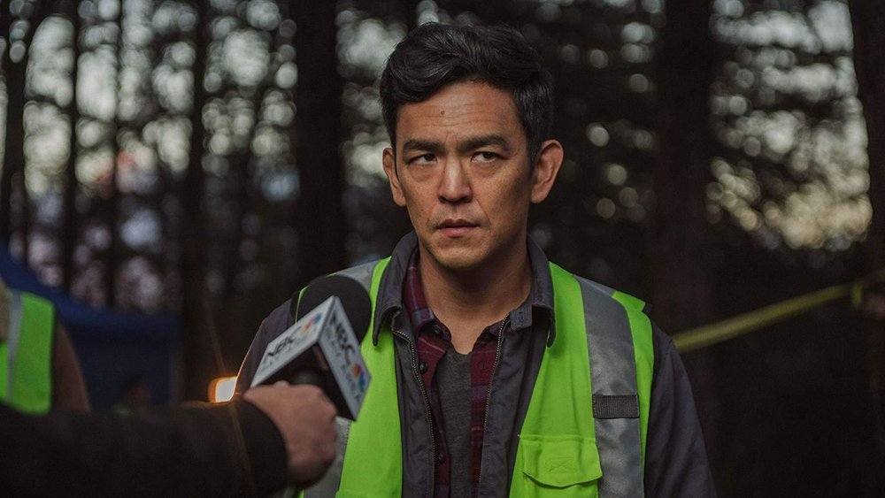 John Cho, delivering a notable performance, in Aneesh Chaganty's  Searching  {Photo: SCREEN GEMS}