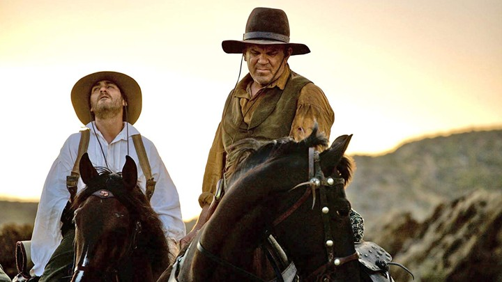 Joaquin Phoenix and John C. Reilly in a scene from Jacques Audiard's  The Sisters Brothers  {Photo: Annapurna}
