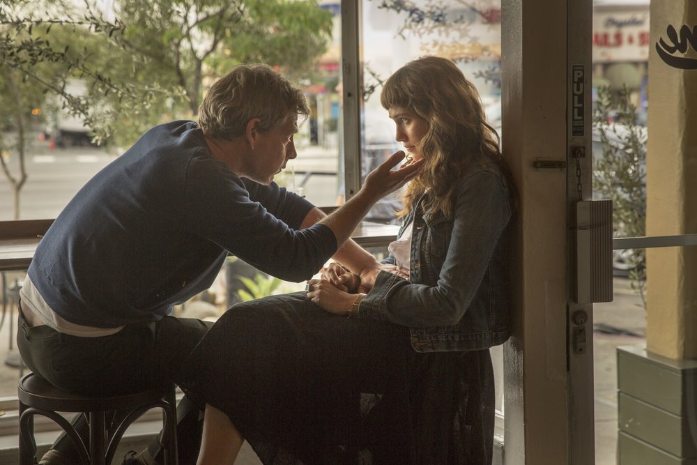 Ben Mendelsohn and Lola Kirke in a scene from Emma Forrest's  Untogether  {Photo: Freestyle Digital Media}