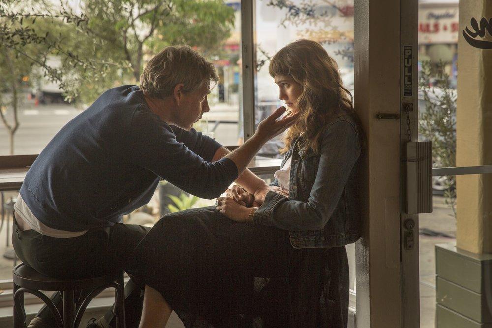Ben Mendelsohn and Lola Kirke in a scene from Emma Forrest's  Untogether  {Photo: Freestyle Digital Media}