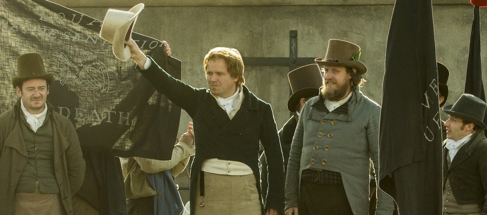 A scene from Mike Leigh's  Peterloo  {Photo: Amazon}