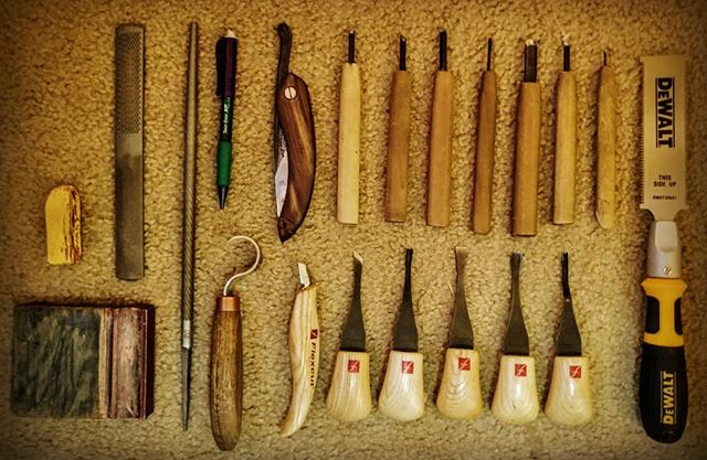 I need...more!  #wood #carving #tools