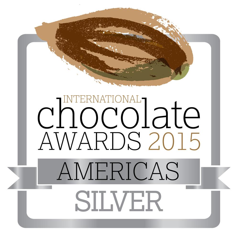 International Chocolate Awards 2015 - Silver - Americas RGB.jpg