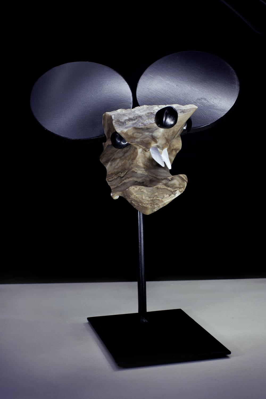 Walt Sculpts Mickey