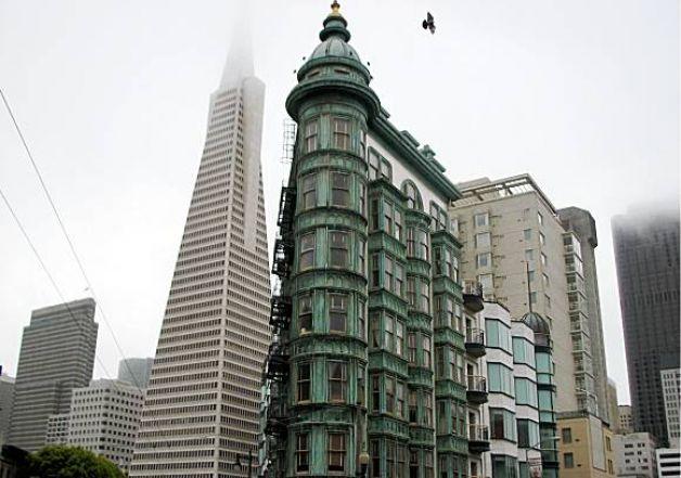 The Sentinel Building. San Francisco, CA