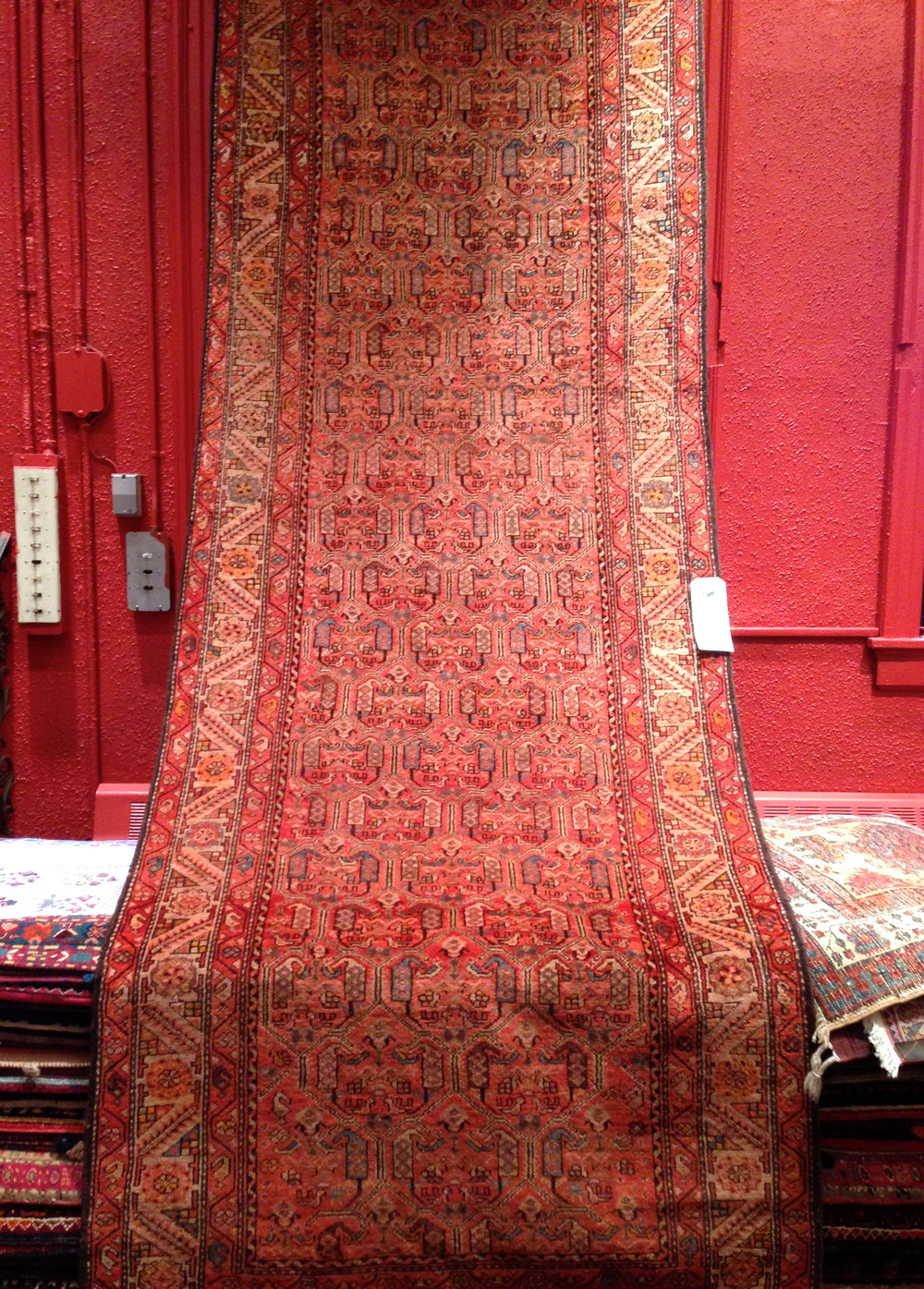 ABC Carpet - rustic wool from Iran