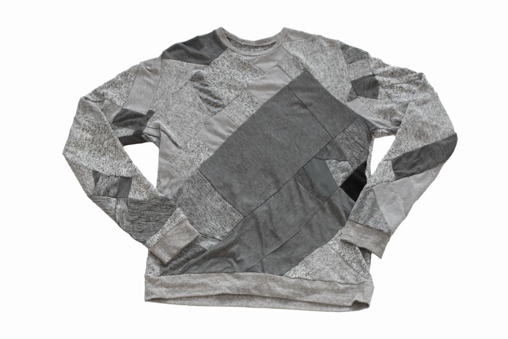 daniel silverstein zwd zero waste daniel gray sweatshirt eco fashion sustainable