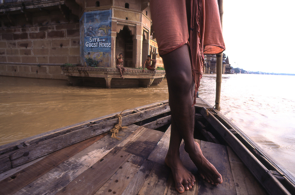 Boatman on the Ghange