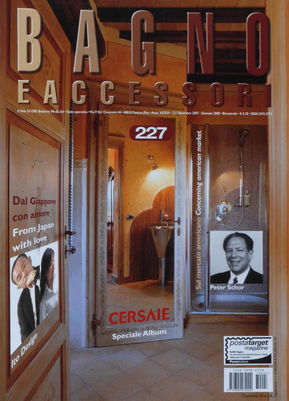 Bagno e Accesori Magazine Cover