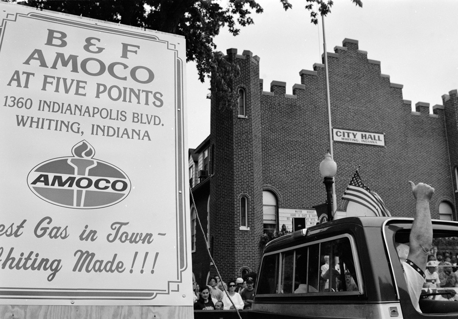 Whiting, Indiana: Home of Amoco Oil Refinery