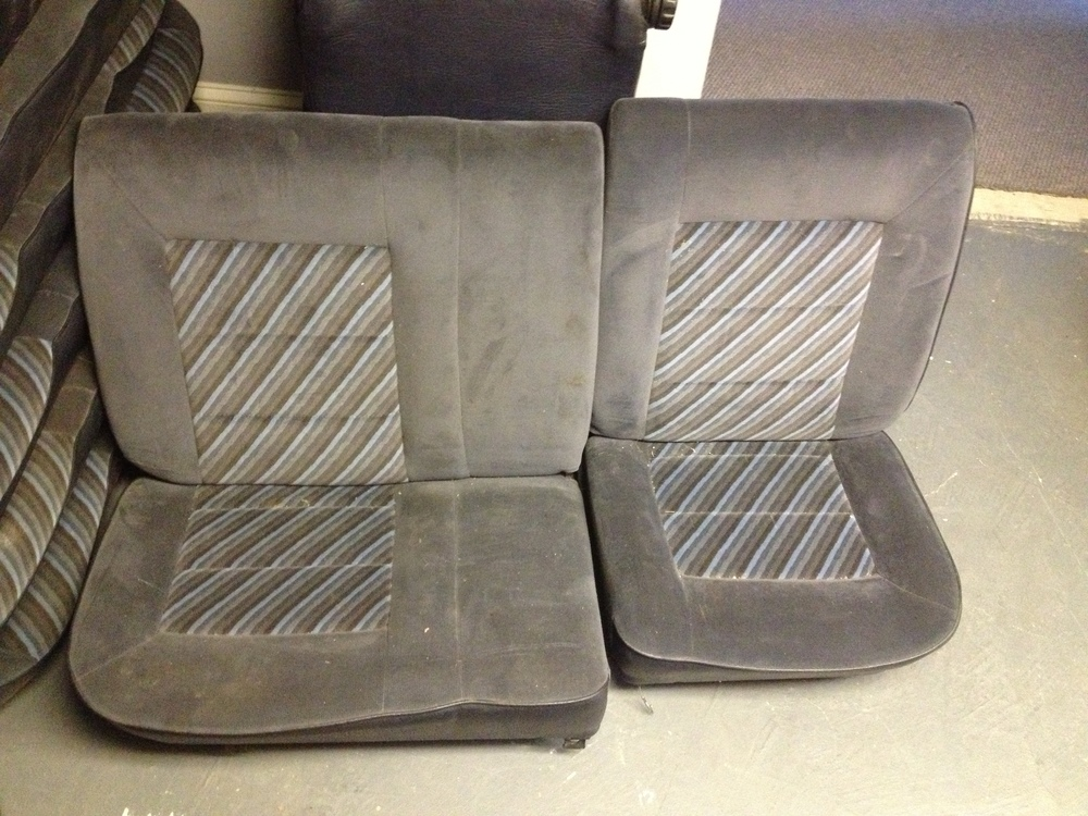 OEM MK2 golf helios 60/40 rear seats