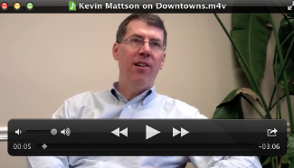 Kevin Mattson, president of Dirigo Capital Advisors, discusses what's driving people back to Maine's downtown districts.