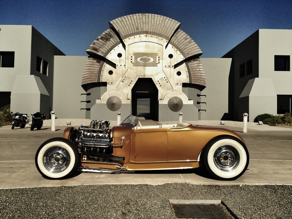 Custom Hot Rod by Oakley Designer, Nick Garfias.