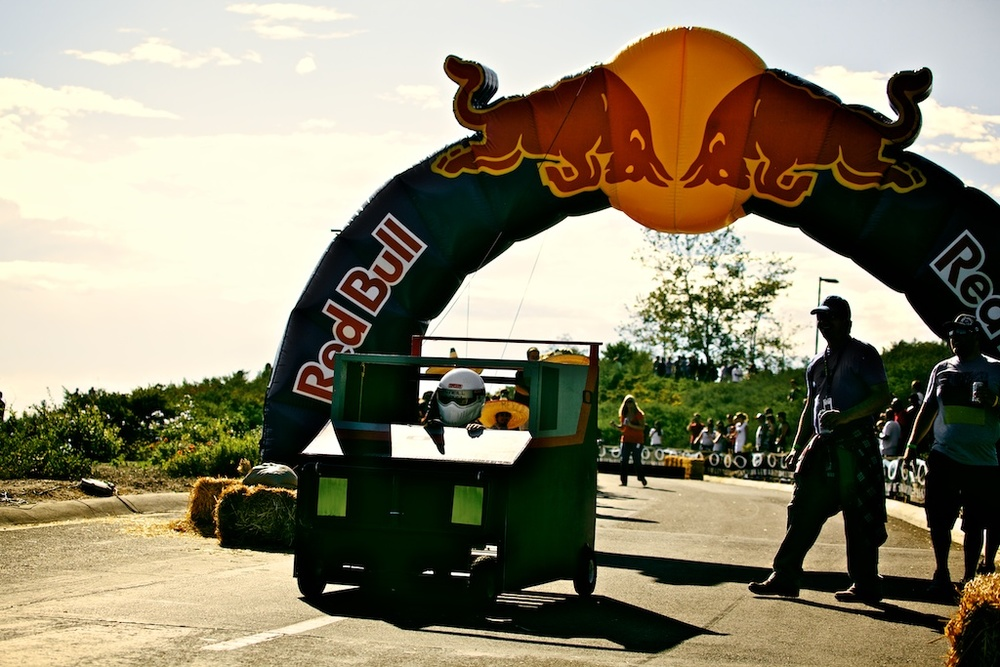 A few snapshots from the 1st Annual Oakley Derby of Doom.