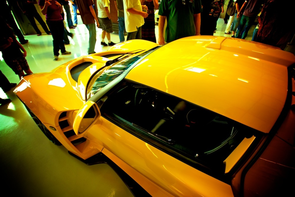 More automobile awesomeness from the Hennessey Southern California Open House