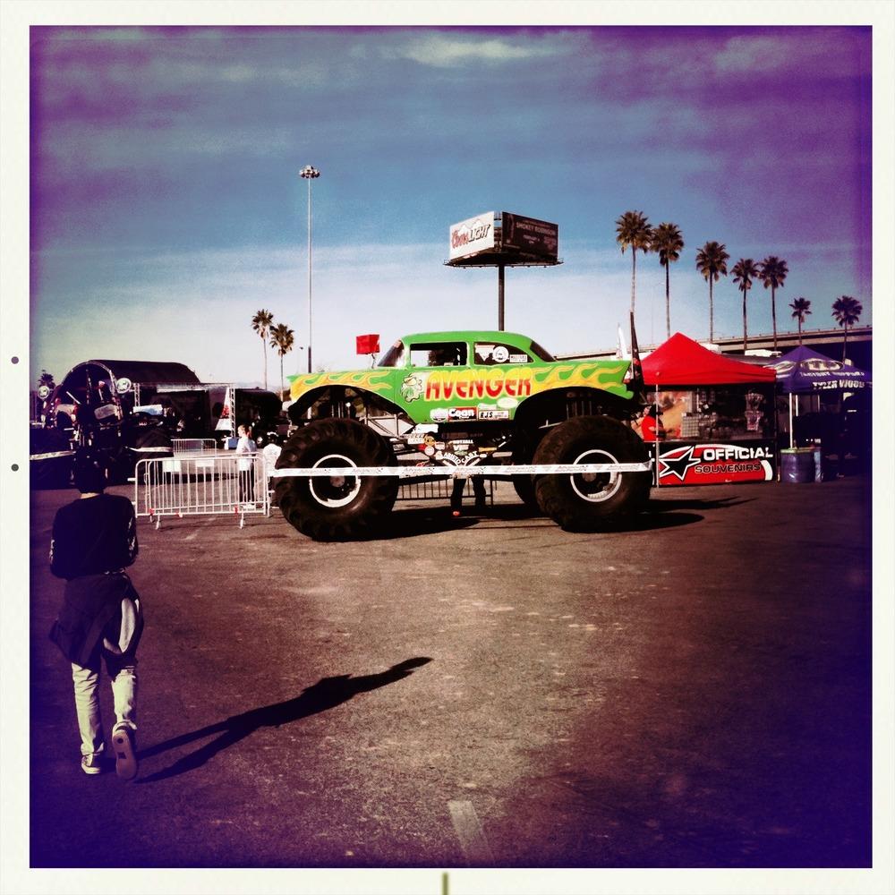 A few random Monster Jam truck shots before the event.