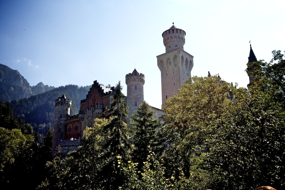 Day 4: Some shots at Neuschwanstein Castle.