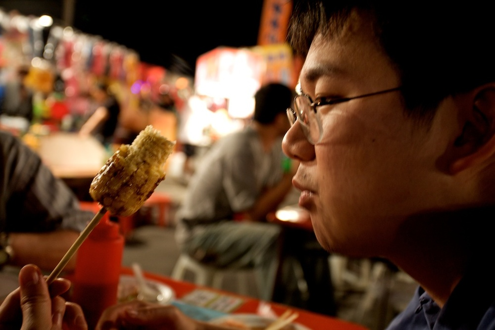 Prepare to drool. Taiwan night market photos. Man, was this good.