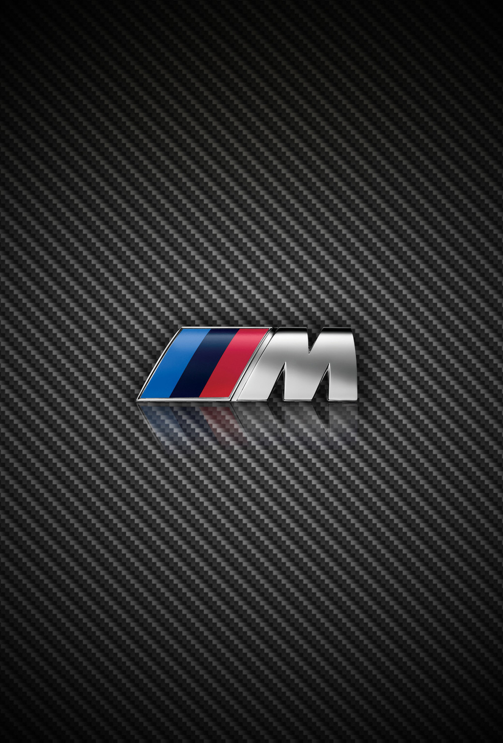 carbon fiber bmw and m power iphone wallpapers for ios 7