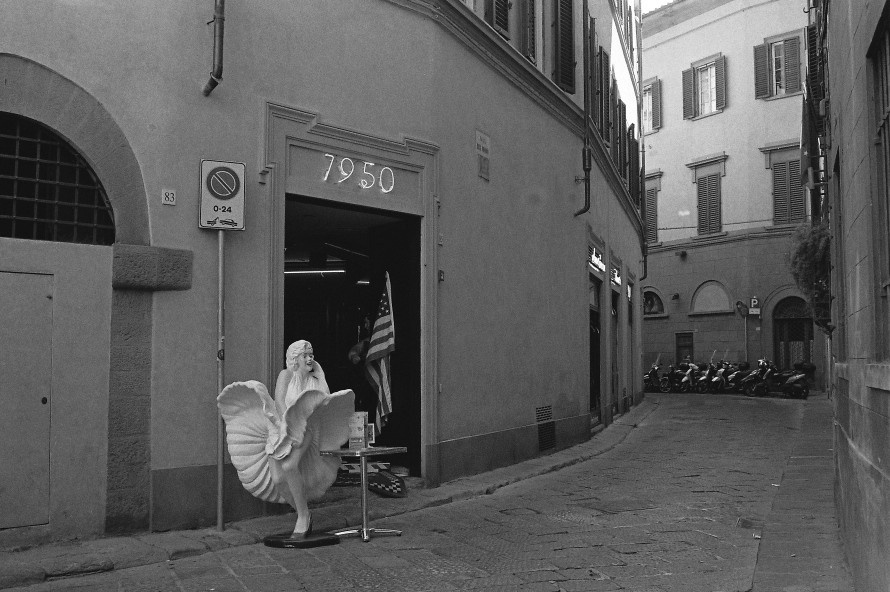 Marilyn in Florence