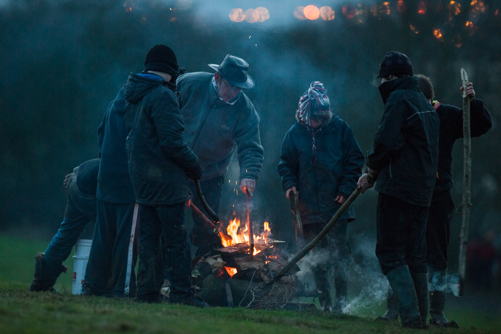 Winter Camp at Gilwell Park, for The Scout Association