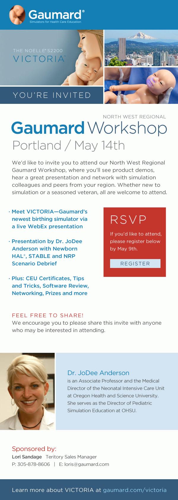 gaumard workshop