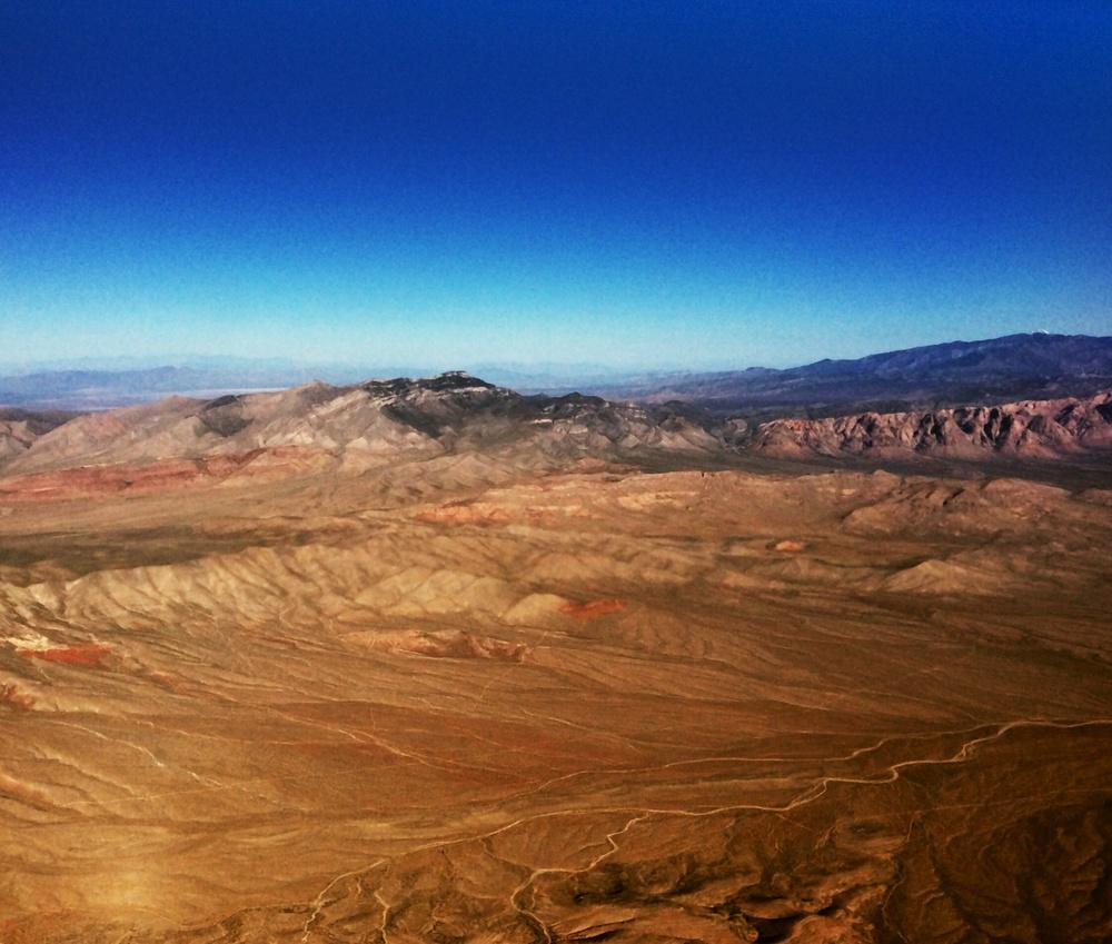 Here's one over the Nevada desert.