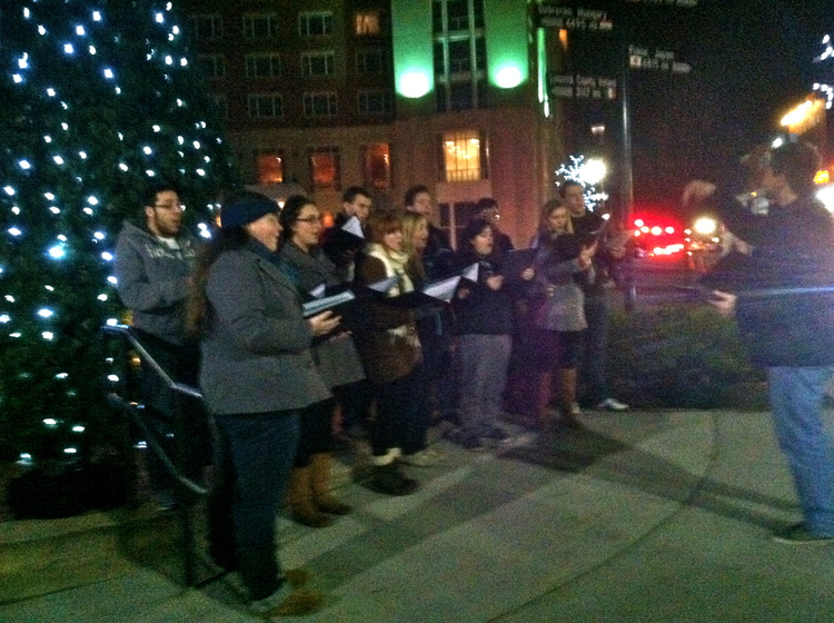 Caroling in New Brunswick!