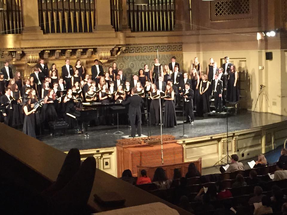 The Chamber Singers of the Yale Glee Club