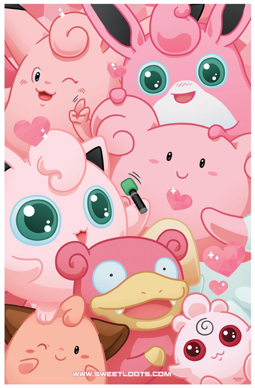 Pink Pokemon -  Pokemon