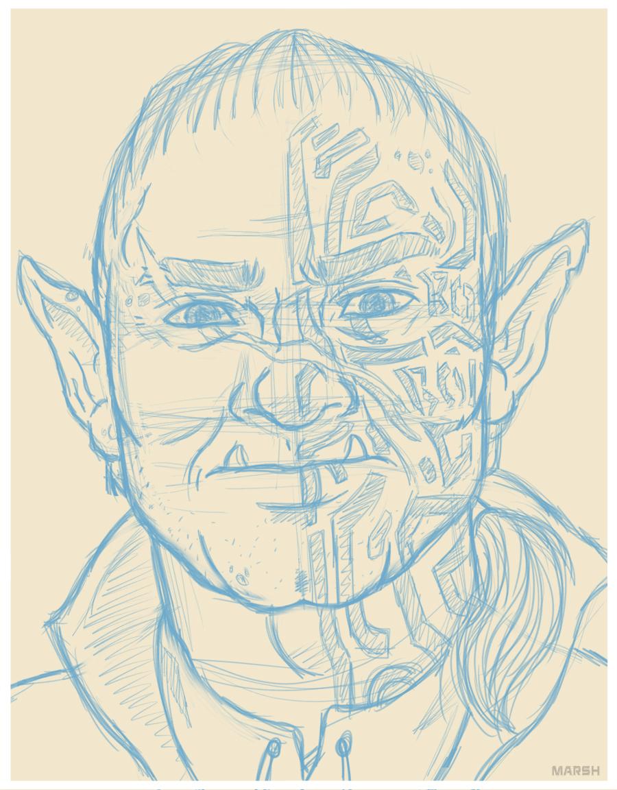 Prip -  D&D Portrait
