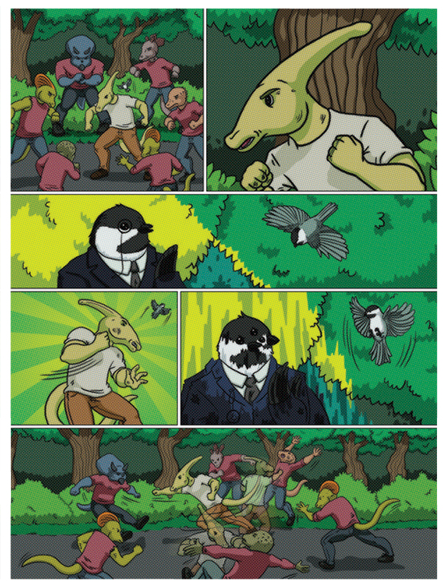 Promotional Comic -  Byrd & Bird