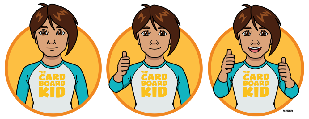 Ratings illustrations -  The Cardboard Kid
