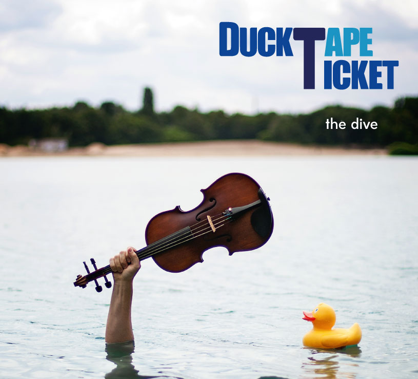 """the dive"" Album-Cover high resolution für web/screen"