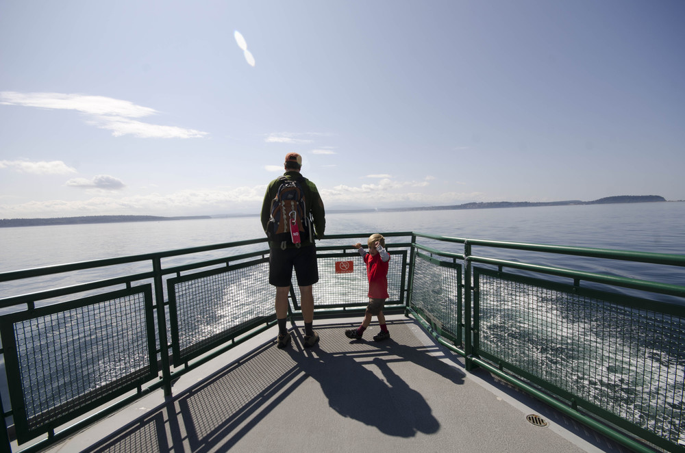 Day 38: 2 ferries and 125 miles, again, in reverse