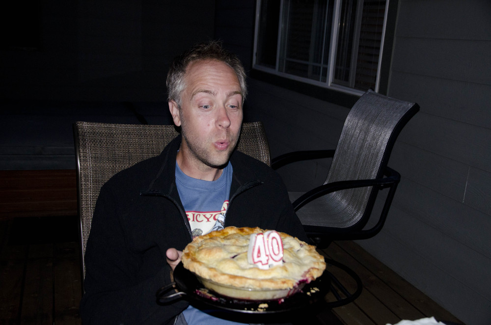 Day 18: Paul turns forty!!!