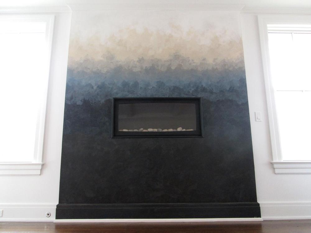 ombre venetian plaster