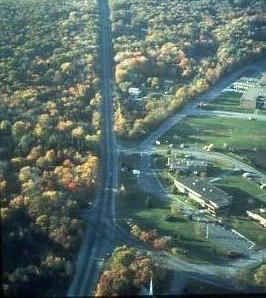 Route 3A Town Offices from the air