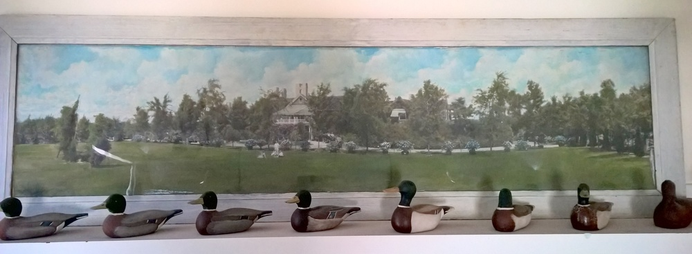 Aldie and Olga Finney donated this amazing collection of carved ducks.