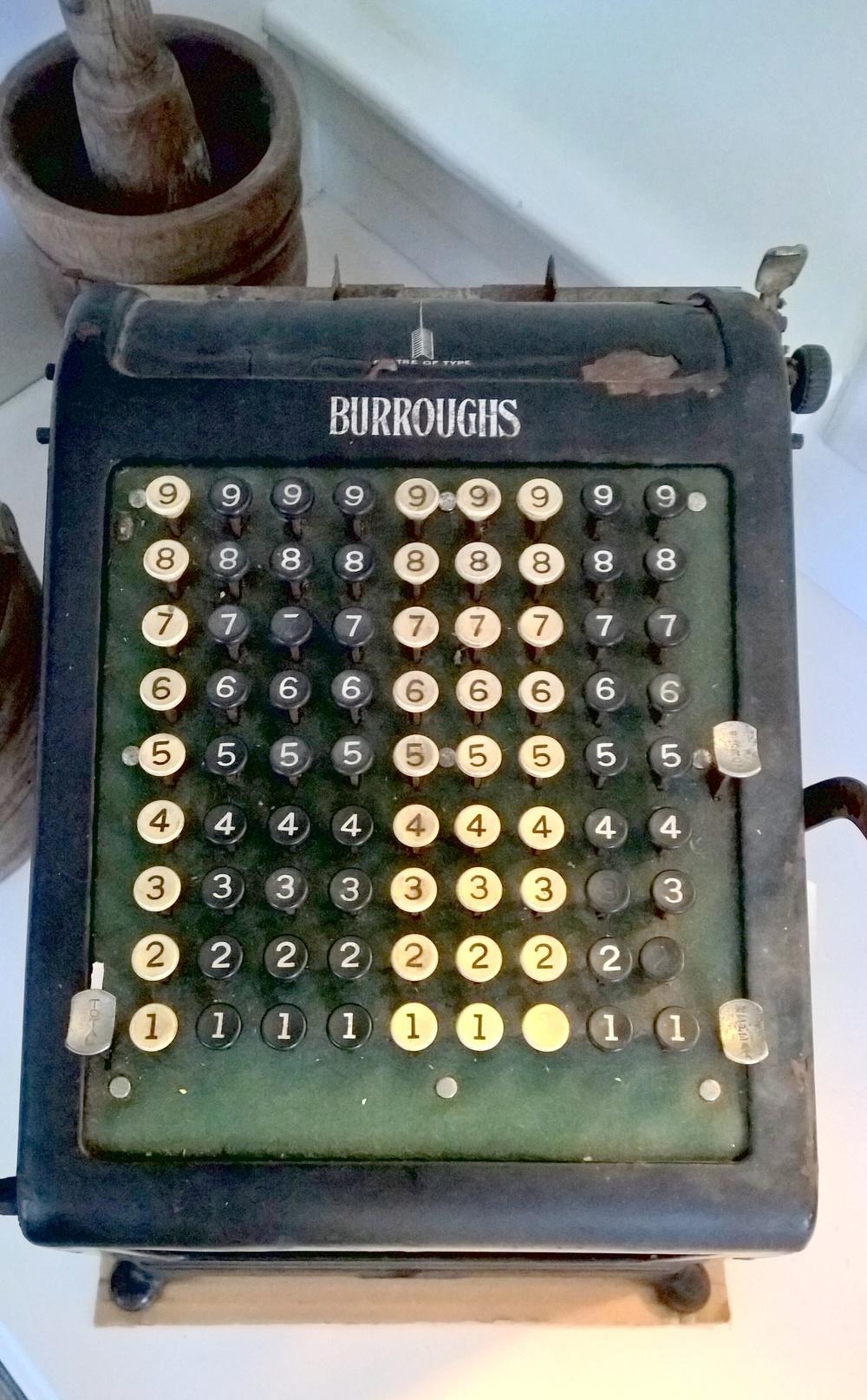 A Dreamwold adding machine.