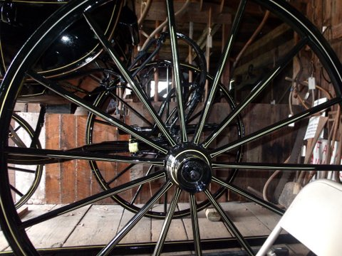 A Wheel from the Cushing Shay