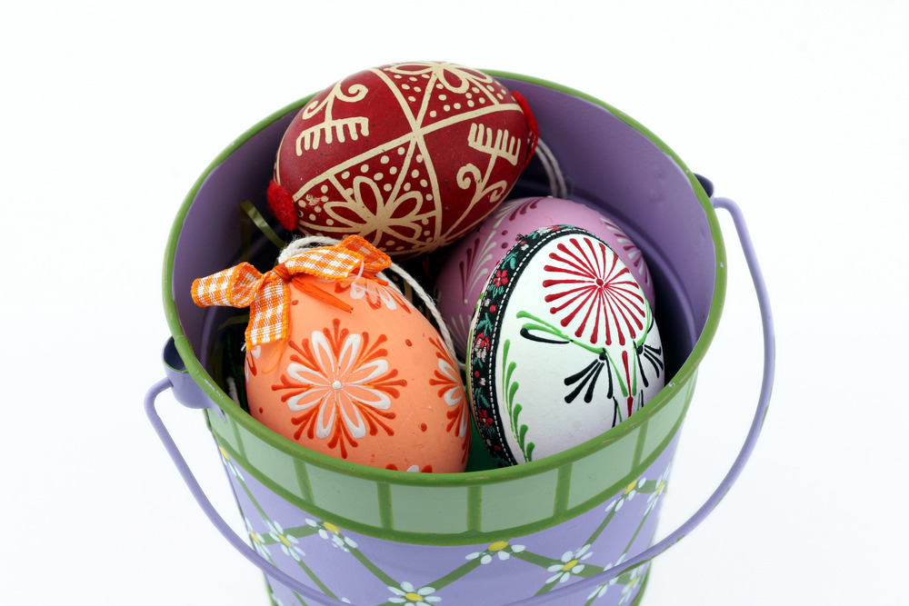Decorative Easter eggs from Slovakia