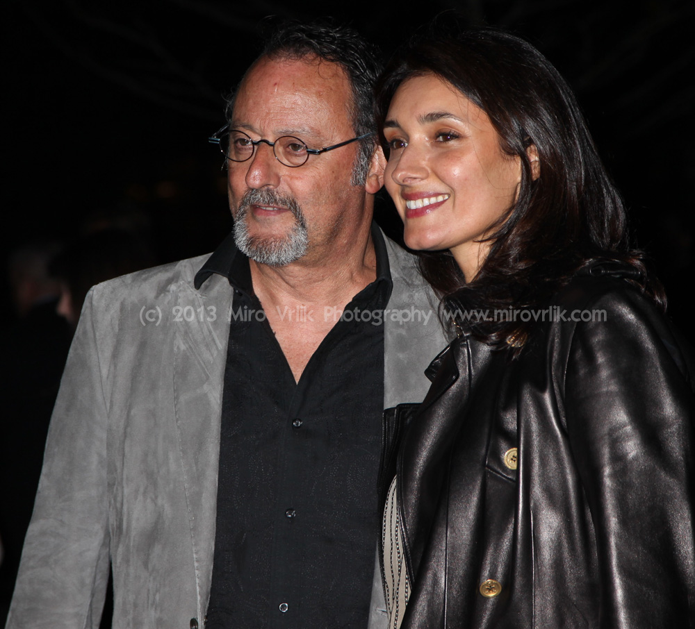 Jean Reno and Zofia Borucka  attends the Vanity Fair Party 2013 Tribeca Film Festival  on April 16, 2013 in New York City