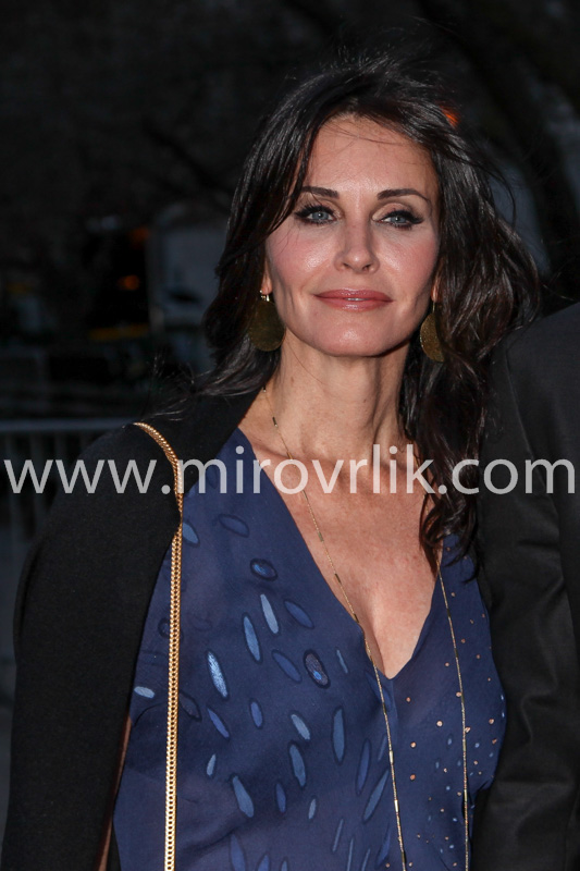 NEW YORK, NY - APRIL 23: Courteney Cox attend the Vanity Fair Party during the 2014 Tribeca Film Festival at the State Supreme Courthouse on April 23, 2014 in New York City
