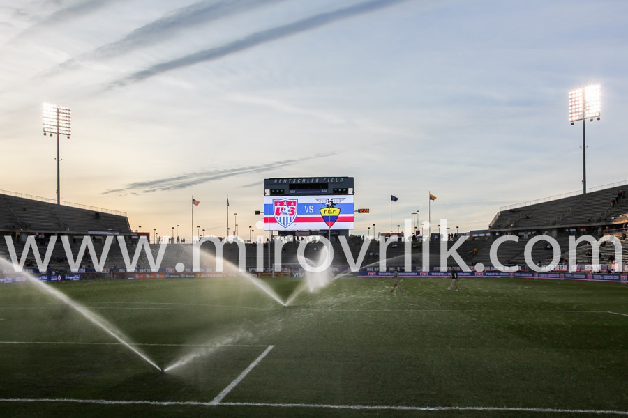 Watering before match