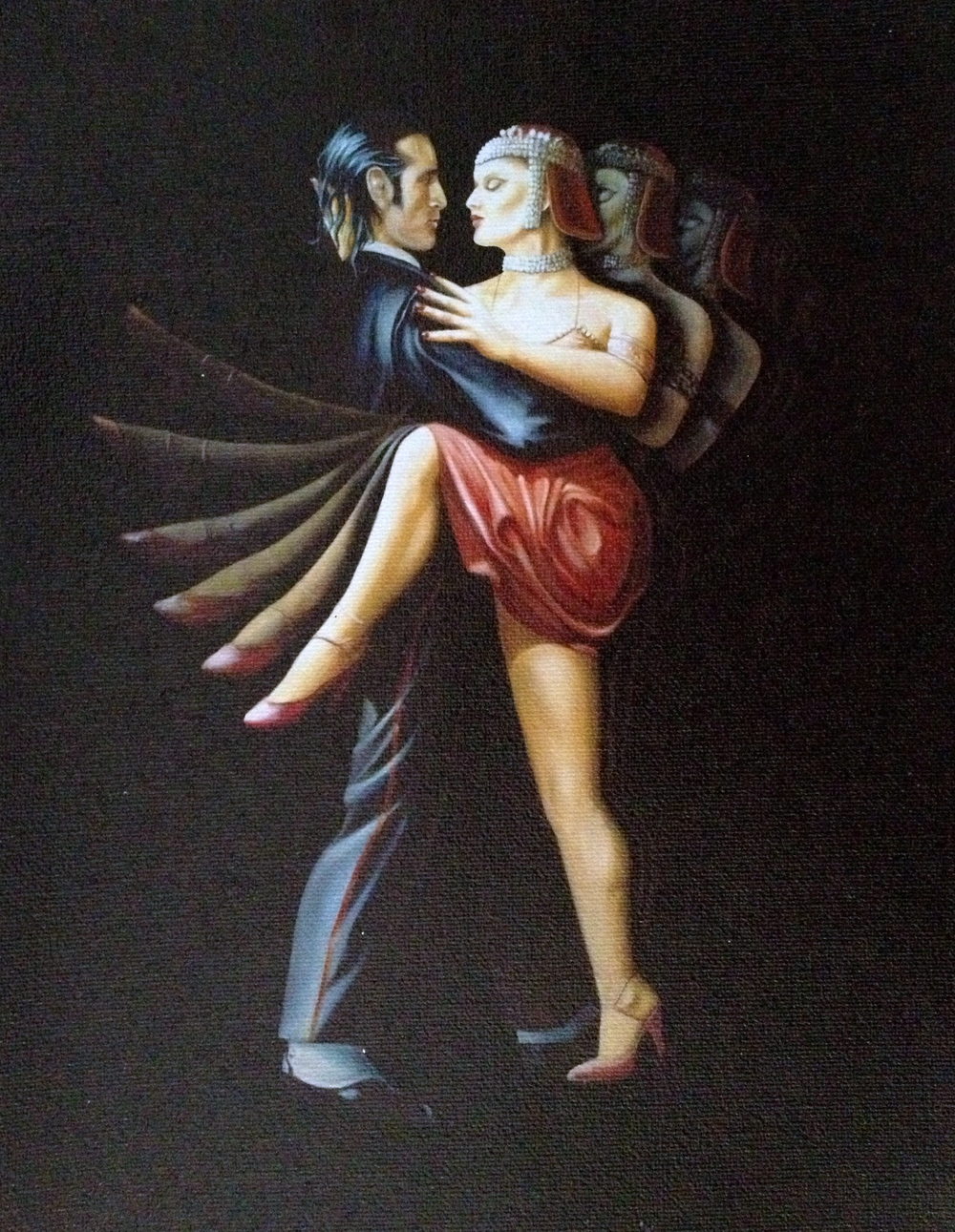 "Tango (oil on canvas 48""x60"")"